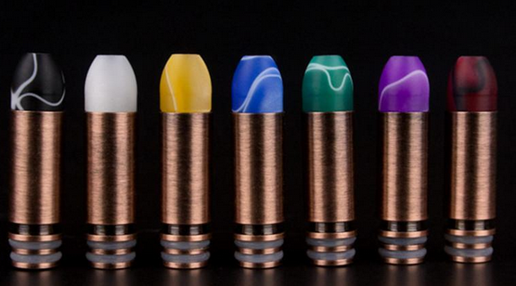 Bullet 510 Electronic Cigarette Drip Tips