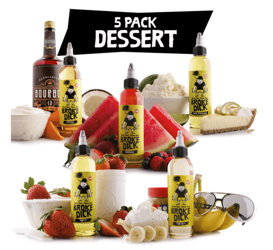 Review Of The 5 Pack-Dessert By Broke Dick
