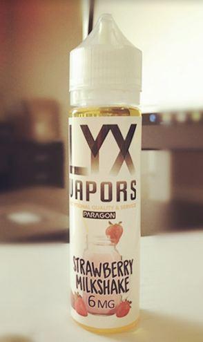 LYX Vapors Paragon-Strawberry Milkshake Review