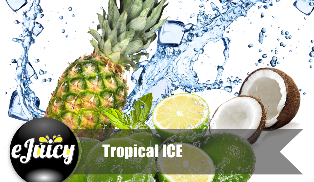 Tropical Ice E-Juice by eJuicy Review