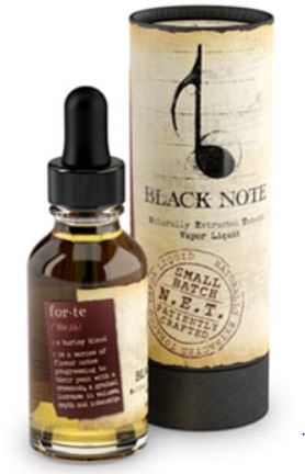 Black Note Forte Eliquid Review