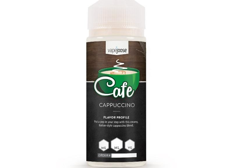 Cappuccino E-Liquid by VapeJoose Review