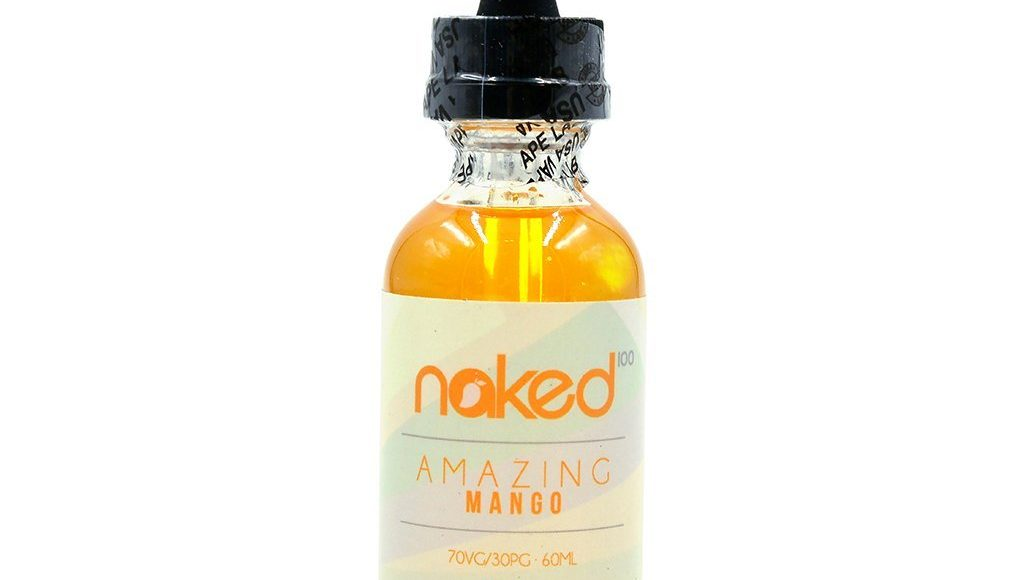 Amazing Mango E-Liquid by Naked 100 Review