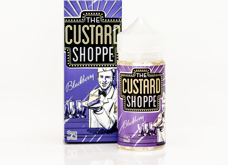 Blackberry E-Liquid by The Custard Shoppe Review