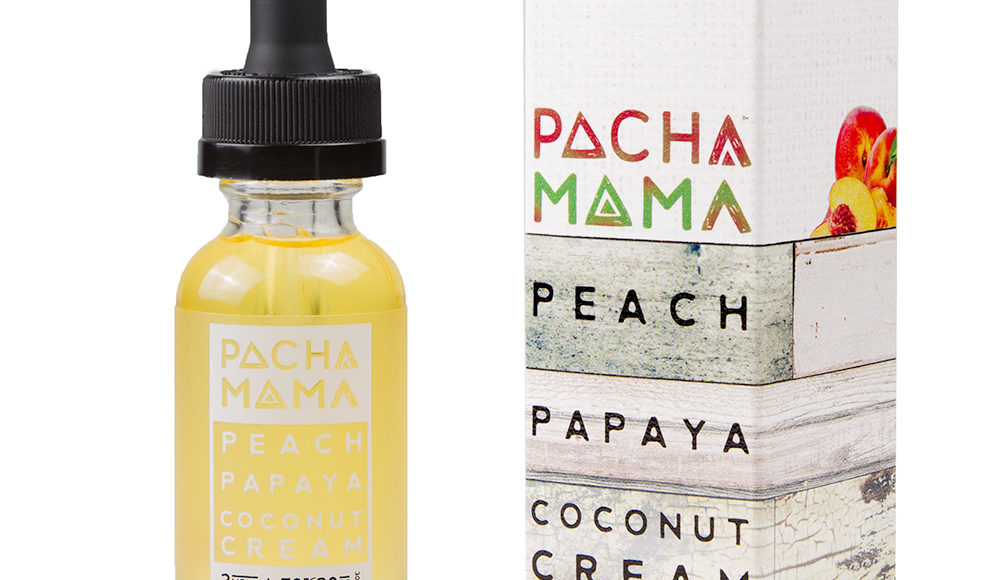 Pacha Mama Peach Papaya Coconut Cream E-Liquid by Charlie's Chalk Dust Review