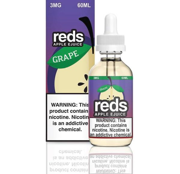 Grape Apple by Reds E-Juice Review