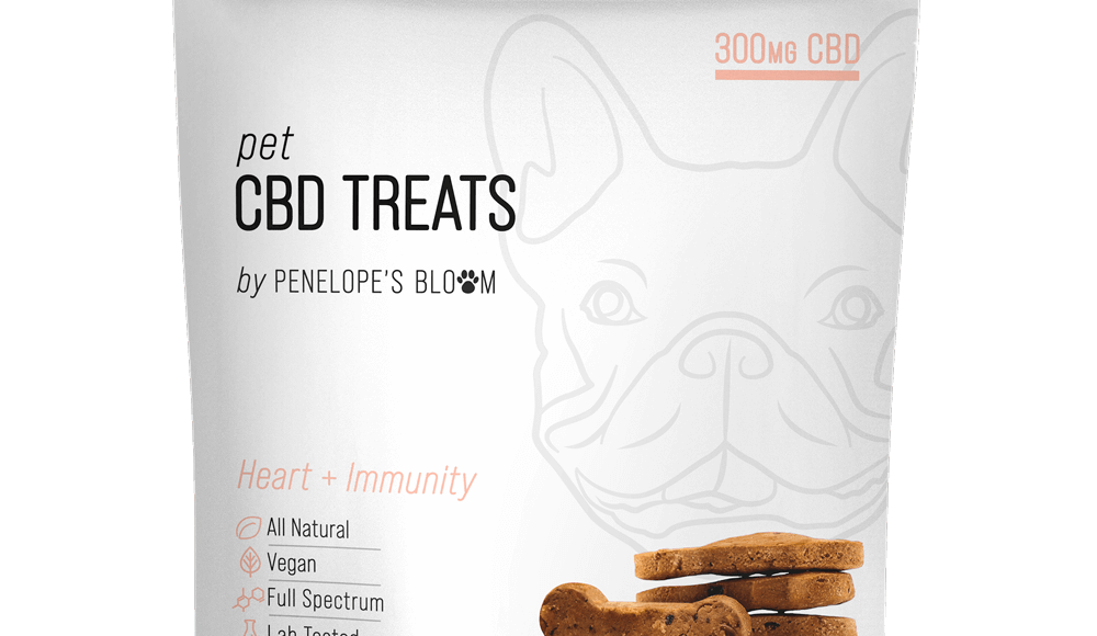 CBD Dog Treats for Anxiety + Stress (300mg) by Penelope's Bloom Review