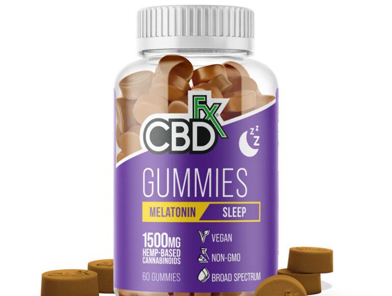 CBD Gummies with Melatonin for Sleep by CBDFx Review