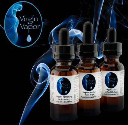 Virgin Vapor Organic E-Liquid Flavors