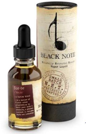 Black Note Forte Eliquid Review