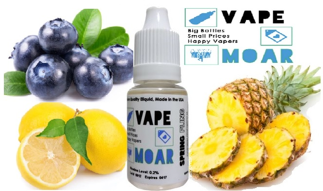 Vape Moar Spring Fling Eliquid Review